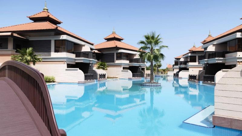 Lagoon Villas with Bridge at Anantara The Palm, Dubai