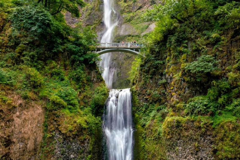 Multnomah Falls near Portland, Oregon