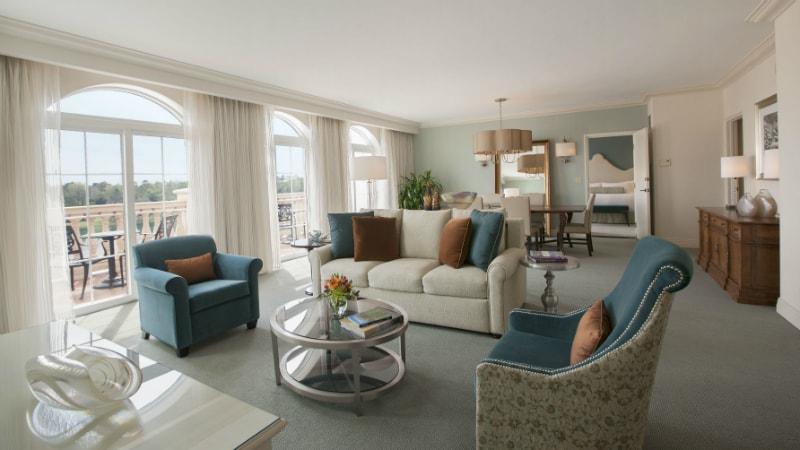 One Bedroom Villa Parlour Suite at Loews Portofino Bay, Orlando