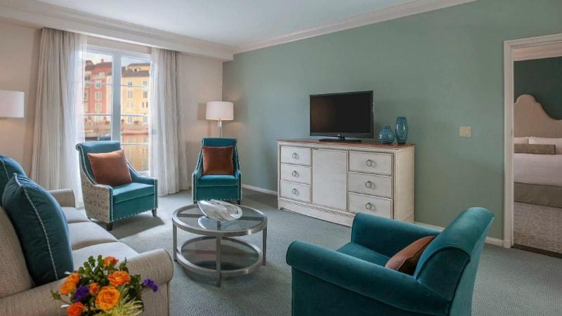 Portofino Parlour Suite at Loews Portofino Bay, Orlando