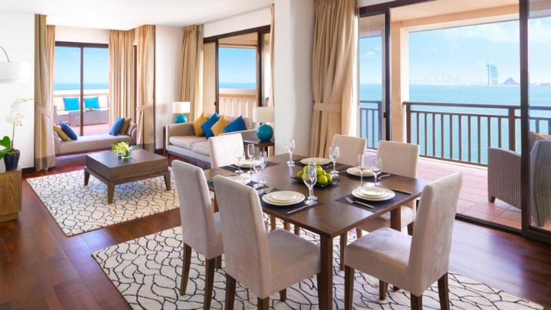 Two Bedroom Apartment w Luxury Terrace at Anantara The Palm, Dubai