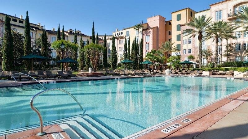 Villa Pool - Luxury Holiday at Loews Portofino Bay   Just Fly Business