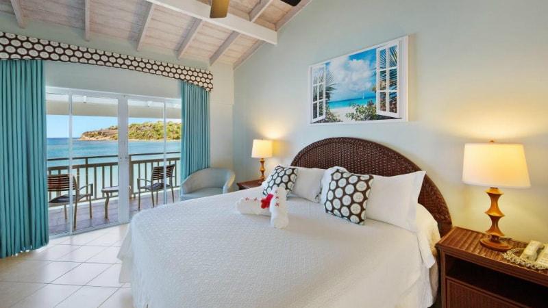 Pinapple Beach Club waterfront room view