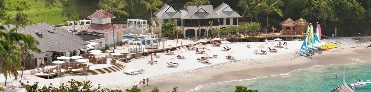 Beach View - The BodyHoliday St Lucia | Just Fly Business