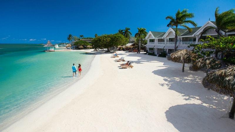 Beach at Sandals Royal Caribbean