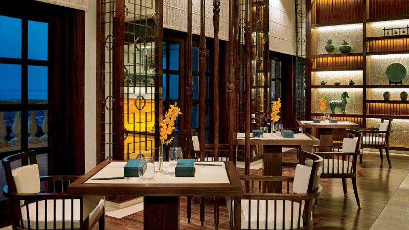Blue Jade Restaurant - Luxury Holiday at the Ritz-Carlton | Just Fly Business