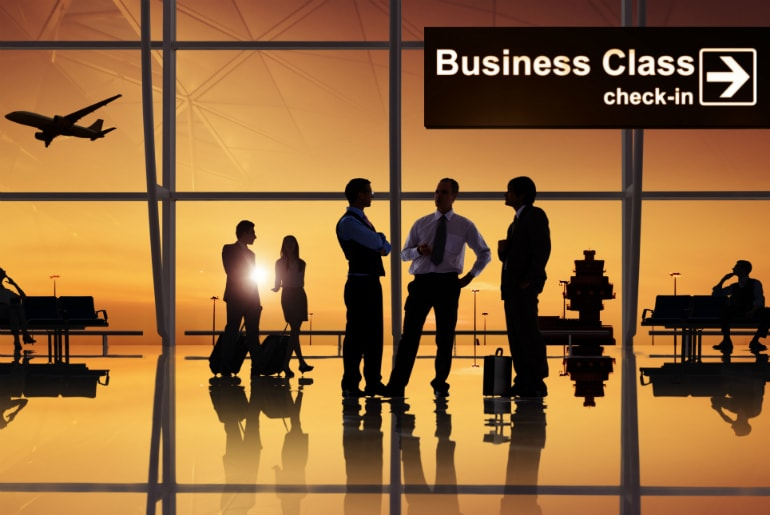 Business Class Departures
