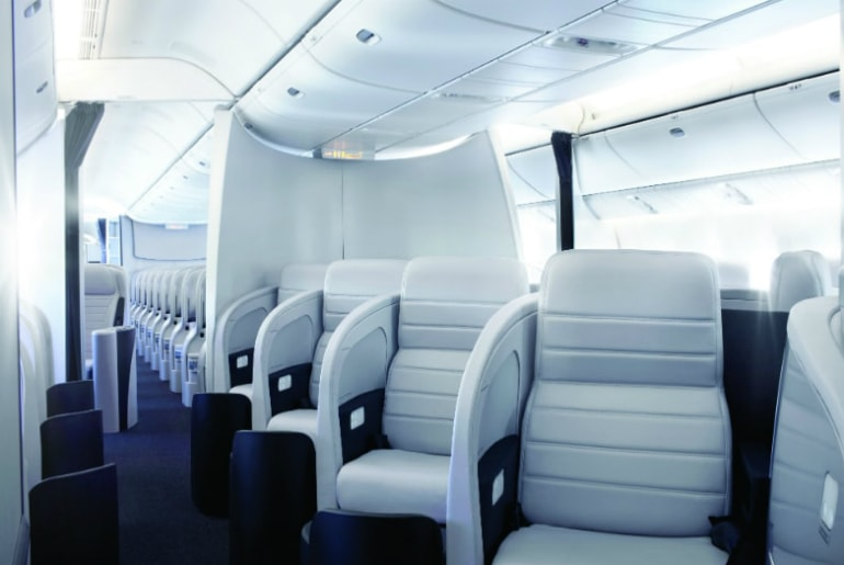 Business Premier Cabin on Air New Zealand