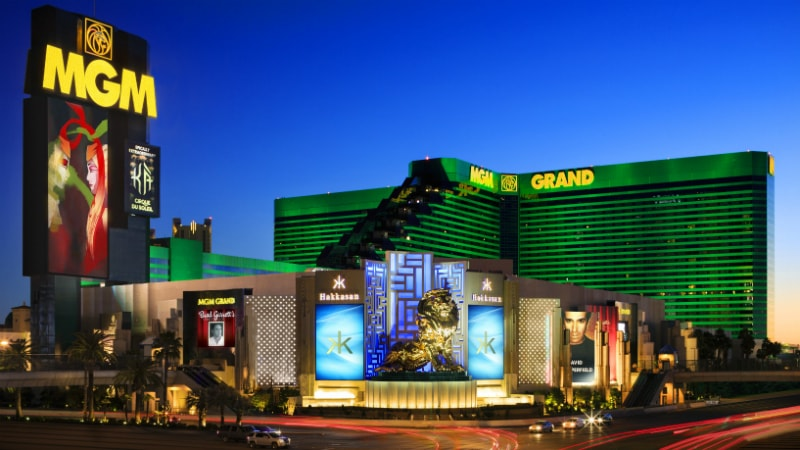 Exterior at MGM Grand, Las Vegas