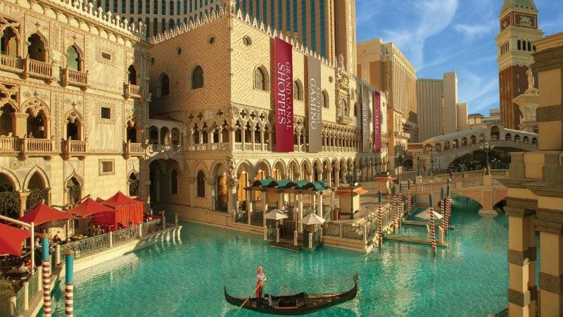 Gondolas - Luxury Holiday at Palazzo Las Vegas | Just Fly Business