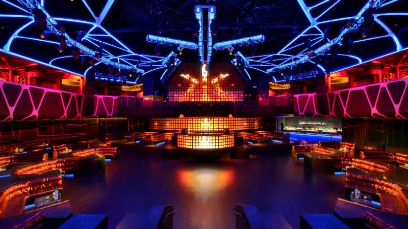 Hakkasan Nightclub - Luxury Holiday at MGM Grand | Just Fly Business