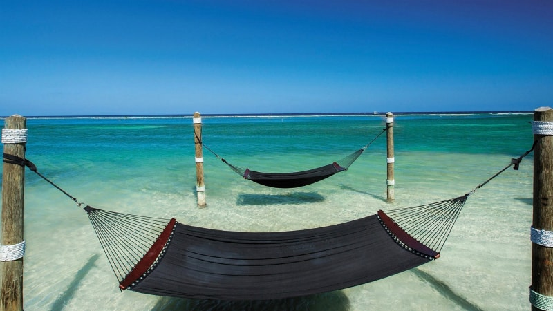 Hammocks at Sandals Royal Caribbean