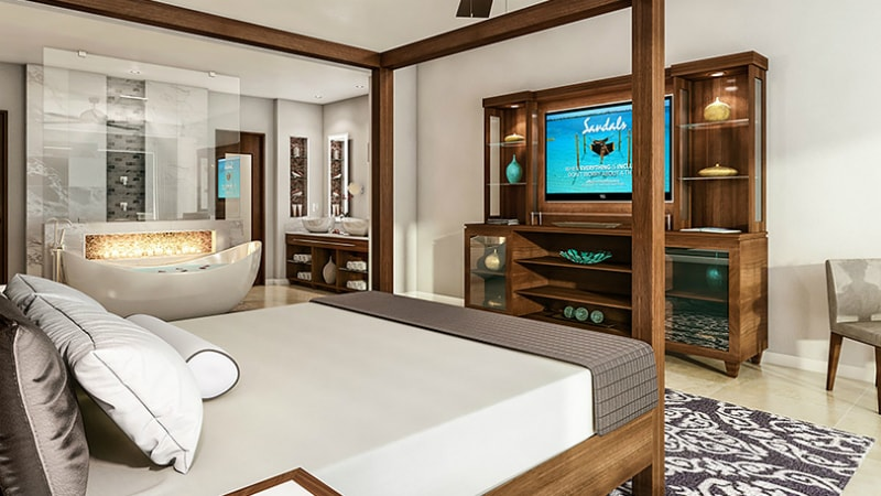Walkout Butler Suite - Luxury Holiday at Sandals Royal Caribbean | Just Fly Business