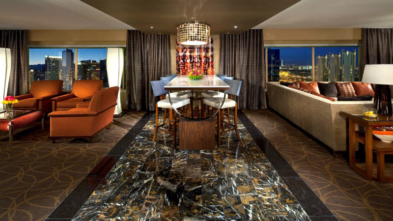 Marquee Two Bedroom Suite - Luxury Holiday at MGM Grand | Just Fly Business