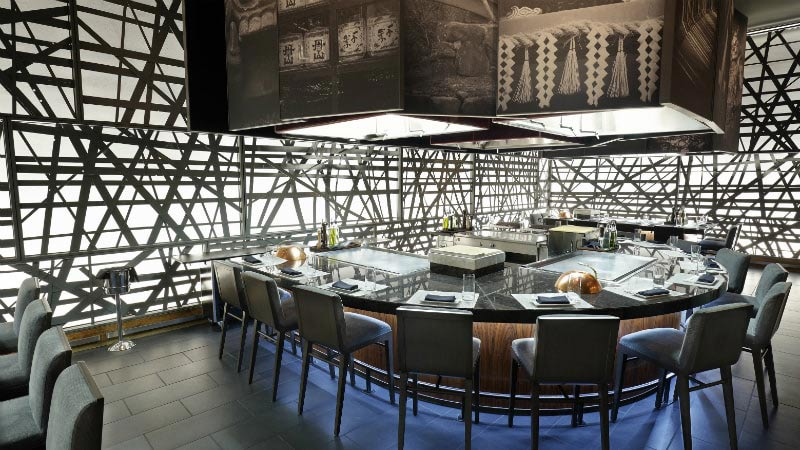 Morimoto Teppan Grill - Luxury Holiday at MGM Grand | Just Fly Business