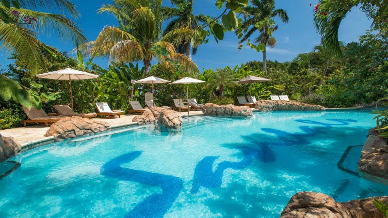 Pool - Luxury Holiday at Sandals Royal Caribbean | Just Fly Business