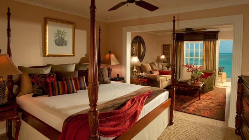 Royal Beachfront Honeymoon One Bedroom Butler Suite at Sandals Royal Caribbean