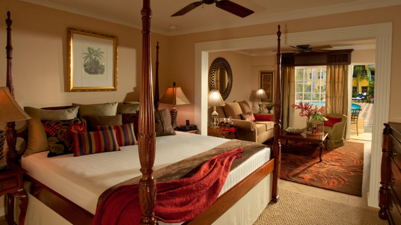 Royal One Bedroom Butler Suite at Sandals Royal Caribbean