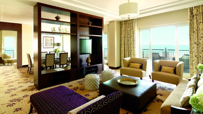 Royal Suite - Luxury Holiday at Ritz-Carlton Dubai | Just Fly Business