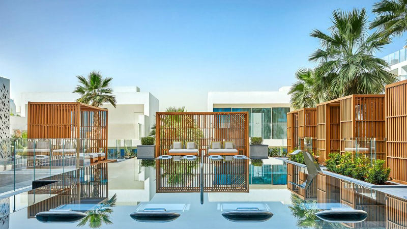 Spa Pool - Luxury Holiday at Five Palm Jumeirah Dubai | Just Fly Business