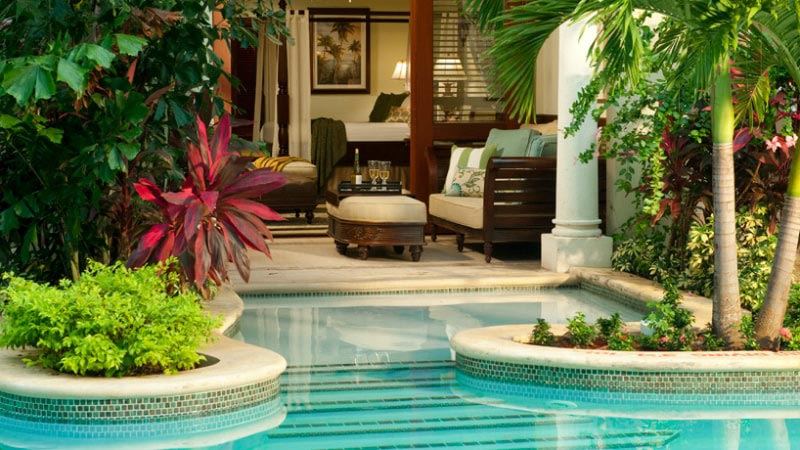 Swim-up Butler Suite - Luxury Holiday at Sandals Royal Caribbean | Just Fly Business