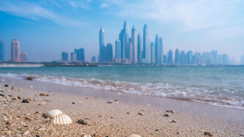 Five Palm Jumeirah, Dubai beach view