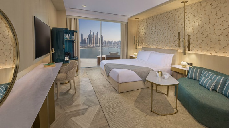 FIVE PALM JUMEIRAH DUBAI Luxe sea view king room