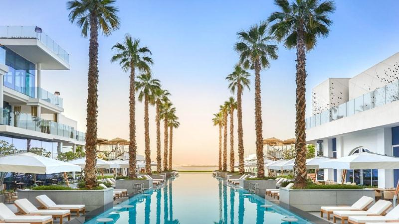 Five Palm Jumeirah, Dubai swimming pool view