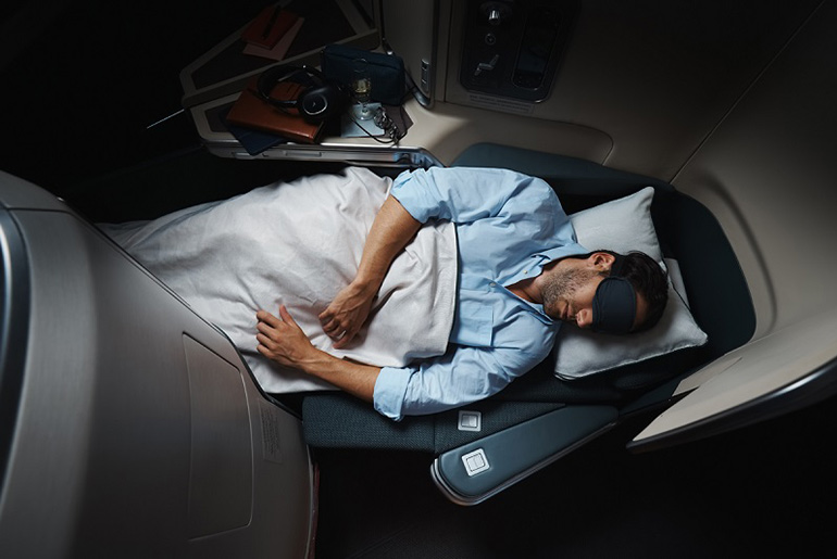 Business Class Seat - Cathay Pacific business class review | Just Fly Business