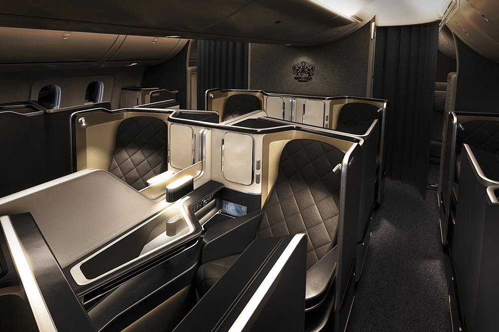 First Class Cabin - British Airways First Class | Just Fly Business