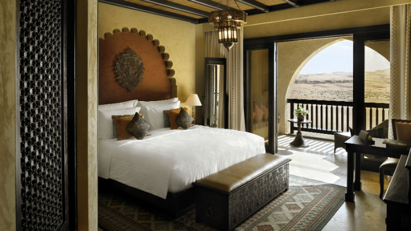 Deluxe Balcony Room - Anantara, Qasr Al Sarab | Just Fly Business