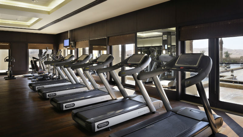 Gym - Anantara, Qasr Al Sarab | Just Fly Business