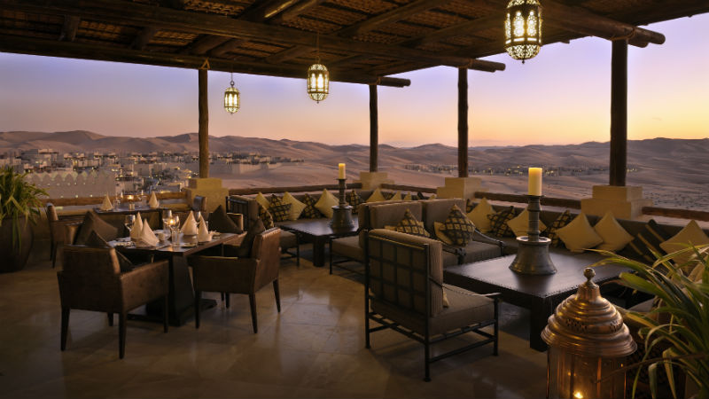 Suhail restaurant - Anantara, Qasr Al Sarab | Just Fly Business