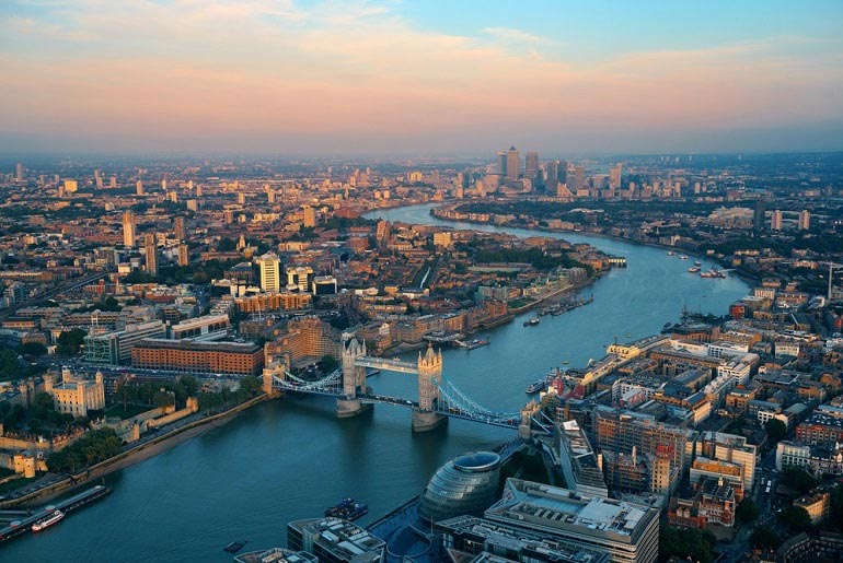 View of London, England | Just Fly Business