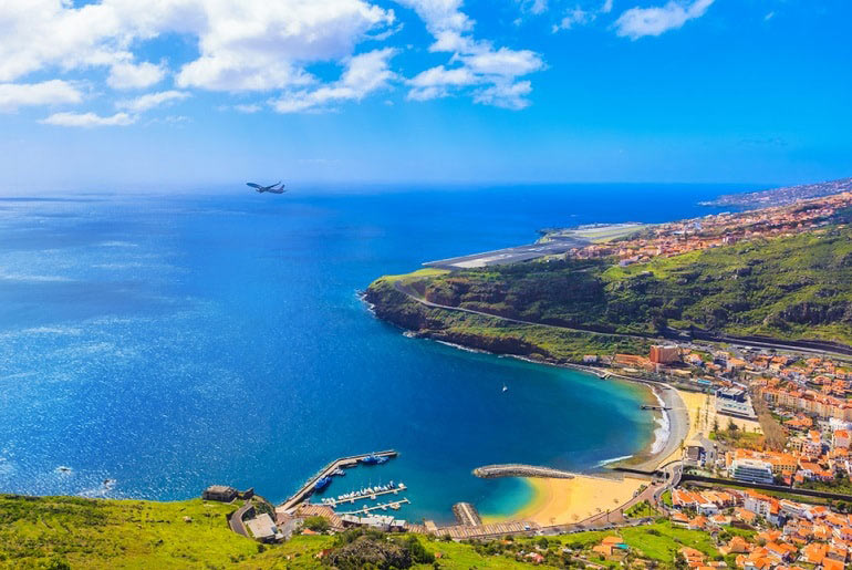 View of Madeira, Portugal | Just Fly Business