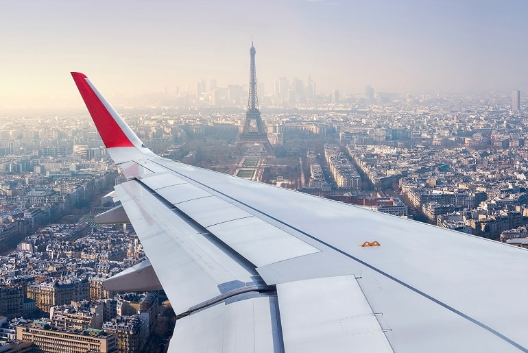 View of Paris, France | Just Fly Business
