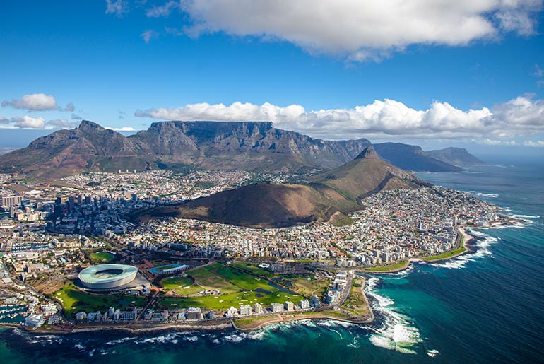 Cape Town - South Africa Business Flights