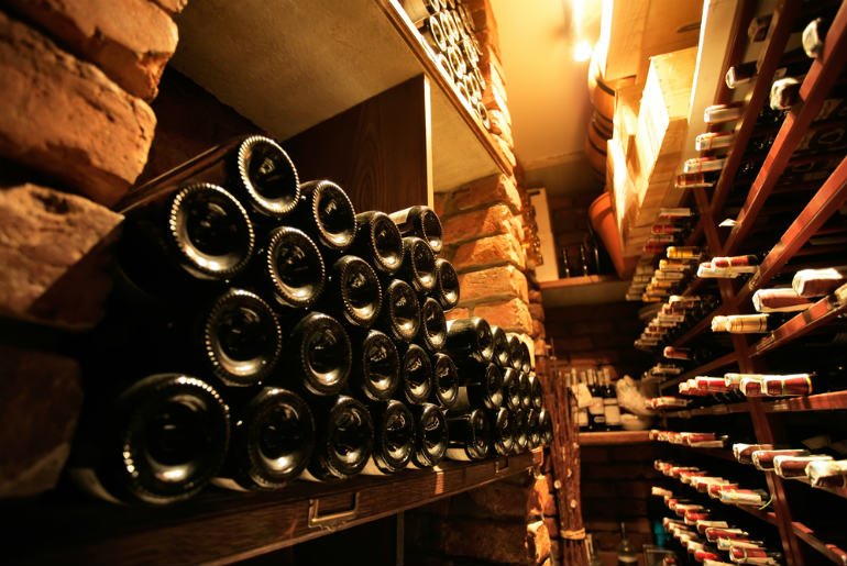 View of wine cellar | Just Fly Business