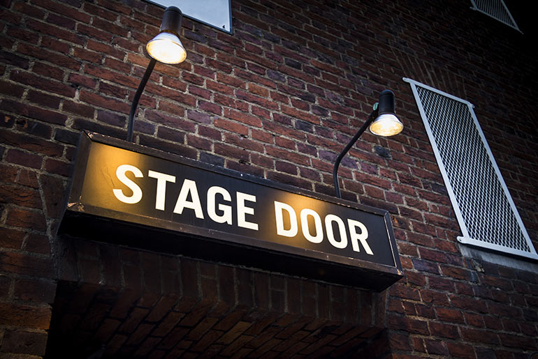 Theatre Stage Door - Win a Night at The Savoy | Just Fly Business