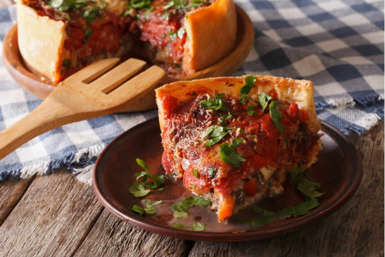 Chicago Deep Pan Pizza -Windy City Will Blow You Away | Just Fly Business