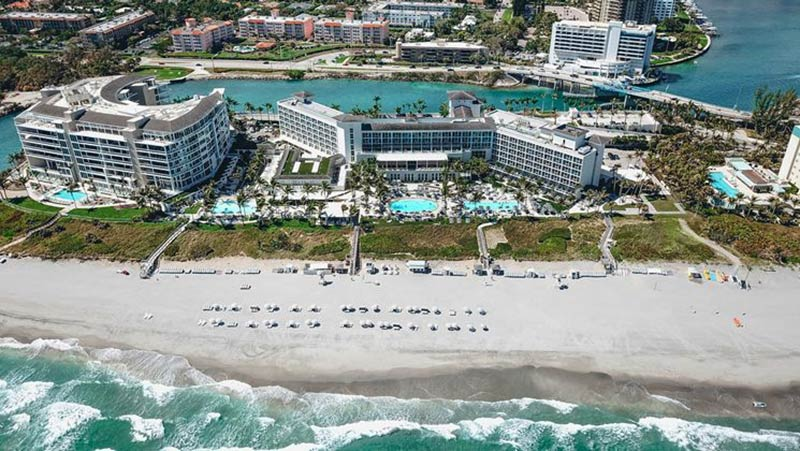 Aerial View - Luxury Holiday at Boca Beach Club | Just Fly Business