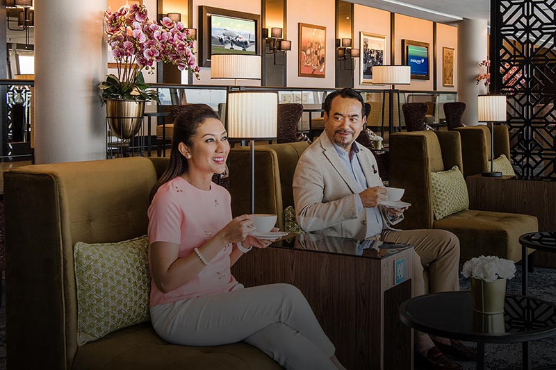 Golden Lounge - Malaysia Airlines Business Class | Just Fly Business