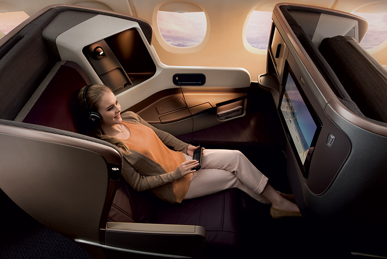 Singapore Airlines Business Class - Best Airlines Revealed | Just Fly Business