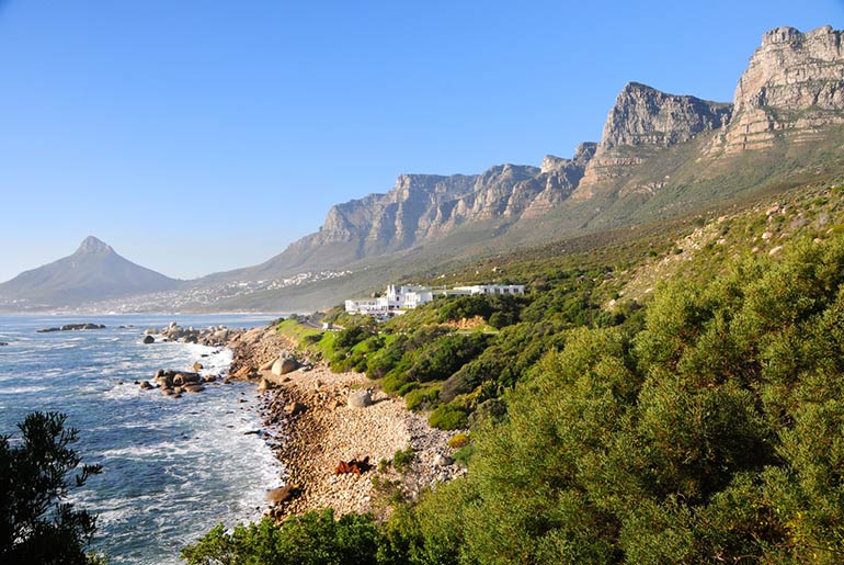 Twelve Apostles - Cape Town Landmarks | Just Fly Business