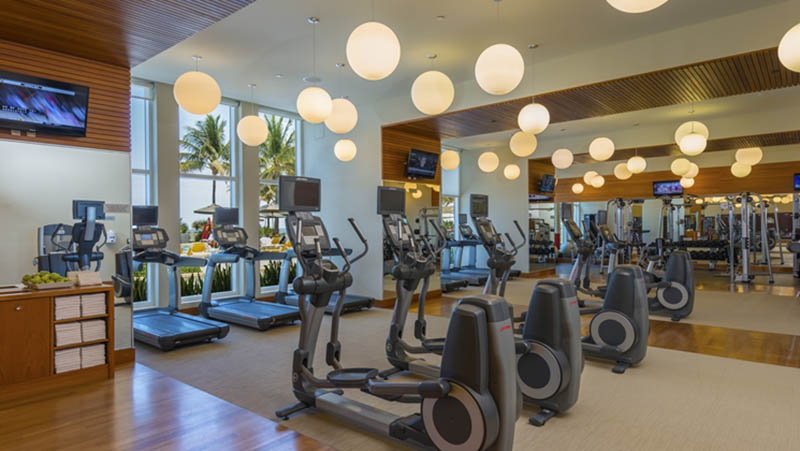 Fitness Centre - Luxury Holiday at Boca Beach Club | Just Fly Business