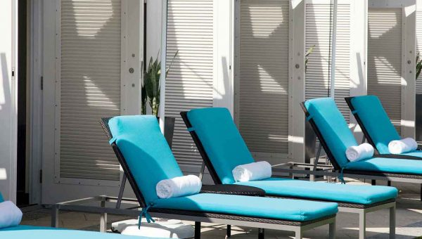 Lounge Chairs & Cabanas - Luxury Holiday at Boca Beach Club | Just Fly Business