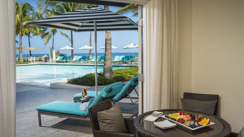 Pool Cabanas - Luxury Holiday at Boca Beach Club | Just Fly Business