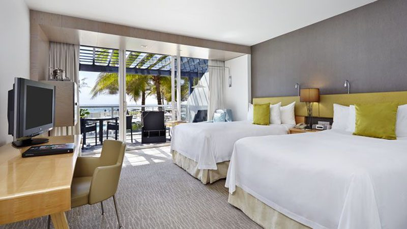 Pool View Balcony Rooms - Luxury Holiday at Boca Beach Club | Just Fly Business