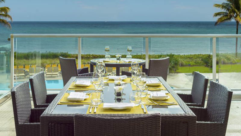 SeaGrille Restaurant - Luxury Holiday at Boca Beach Club | Just Fly Business