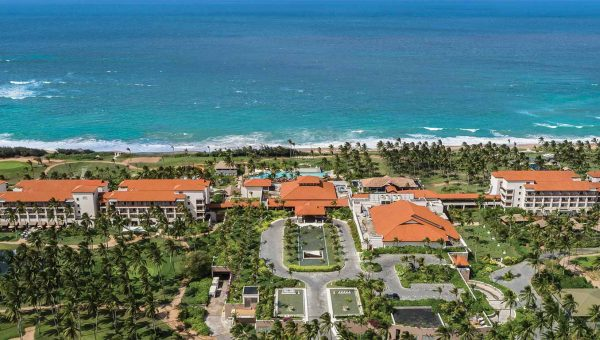 Aerial View of Resort - Shangri-La Hambantota Golf Resort | Just Fly Business